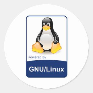 GNU/Linux Adesivo
