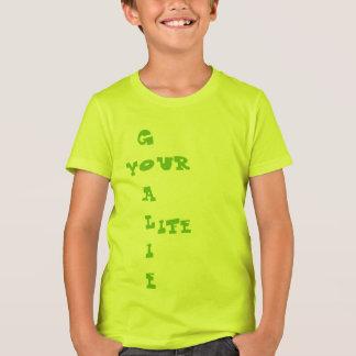 Goalie Kids Bella+canvas crew T-shirt Camiseta