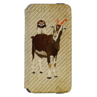 Goat & Owl iPhone Case Wallet Incipio Watson™ iPhone 6 Wallet Case