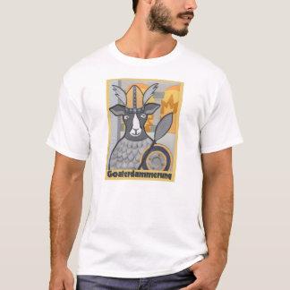 Goaterdammerung:  Crepúsculo das cabras Camiseta