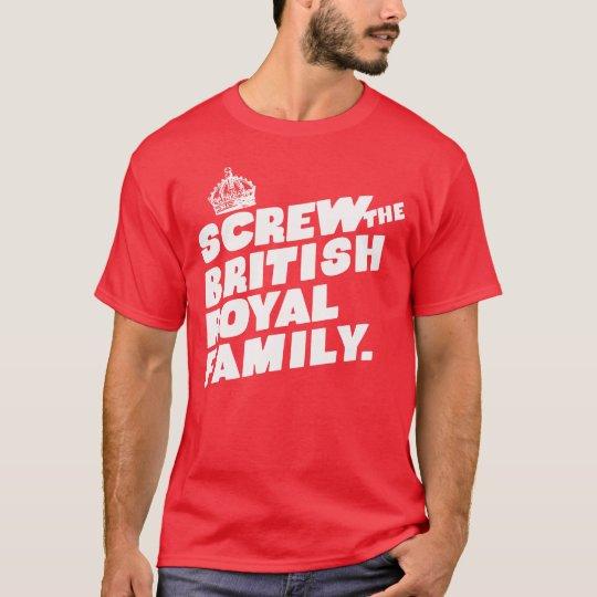God Save The Queen Camiseta