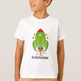 Godson com navio de Rocket Camiseta