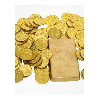 GoldCoinsBar093009 Modelo De Panfleto