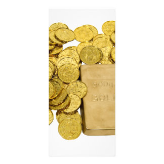 GoldCoinsBar093009 10.16 X 22.86cm Panfleto