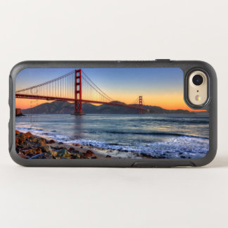 Golden gate bridge da fuga de San Francisco Bay Capa Para iPhone 7 OtterBox Symmetry