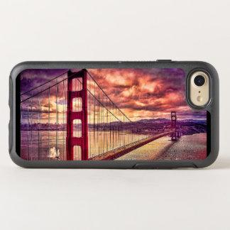 Golden gate bridge em San Francisco, Califórnia Capa Para iPhone 7 OtterBox Symmetry