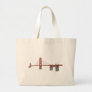 Golden gate bridge: modelo 3D: Bolsa Para Compras
