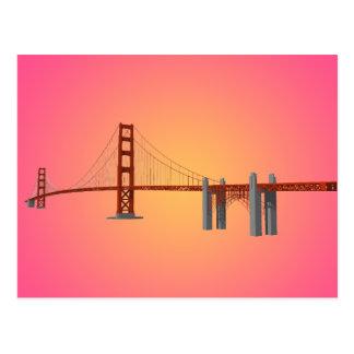 Golden gate bridge: modelo 3D: Cartão Cartoes Postais