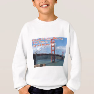 Golden gate bridge San Francisco Califórnia EUA Agasalho