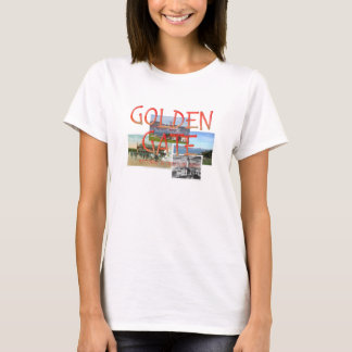 Golden Gate de ABH Camiseta