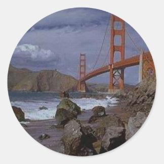 Golden Gate do Pacífico Adesivo