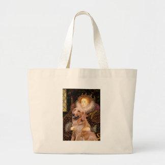 Golden retriever #1 - Rainha Elizabeth mim Bolsa Tote Grande