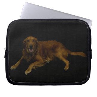 Golden retriever bolsas e capas de notebook