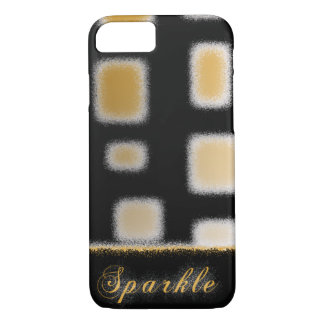 Golden&Sparkly Capa iPhone 8/ 7