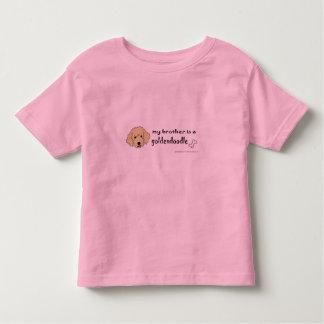 goldendoodle camiseta infantil