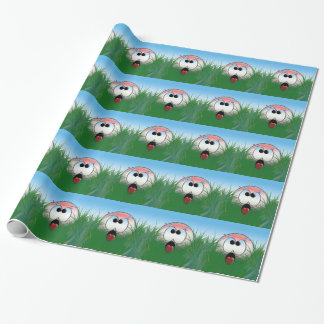 Golf Player Golf Theme Idea Wrapping Paper