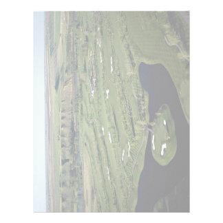 Golfe do Cottonwood e clube, Alberta, Canadá Papel De Carta Personalizados