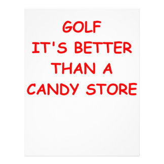 golfe modelos de papel de carta