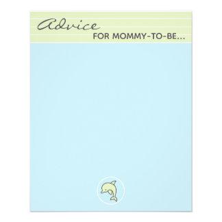 """Golfinho """"azul/verde """" do cartão do conselho do"""