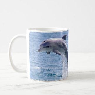 golfinho caneca de café