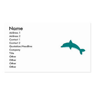 Golfinho Cartão De Visita