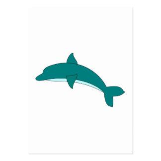 Golfinho Cartão De Visita Grande