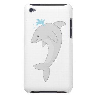 Golfinho feliz bonito capa para iPod touch