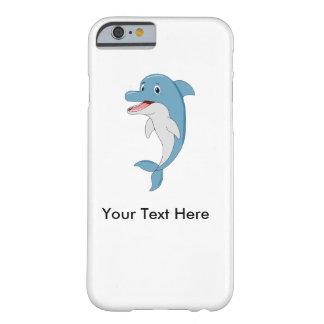Golfinho feliz capa barely there para iPhone 6