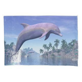 Golfinho nos trópicos - 3D rendem