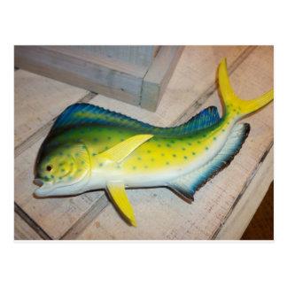 Golfinho os peixes (não o mamífero) cartão postal