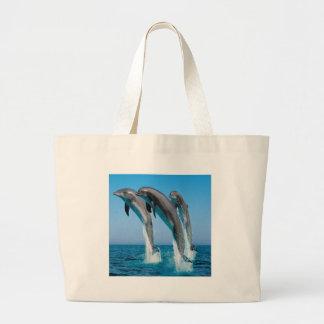 Golfinhos da dança bolsas para compras