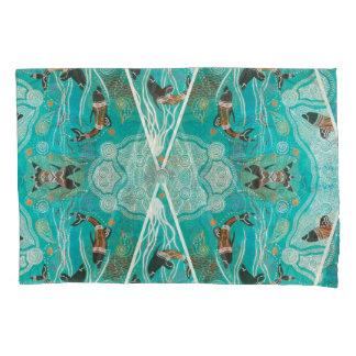 Golfinhos em pares do jogo de caixa do travesseiro