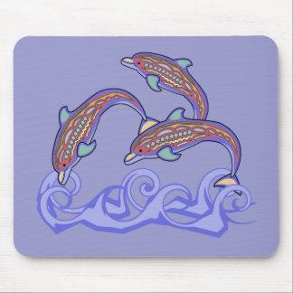 Golfinhos no jogo Mousepad