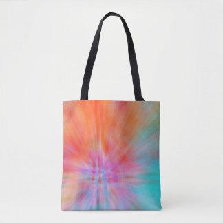 Golpes grandes abstratos 002 coloridos bolsa tote