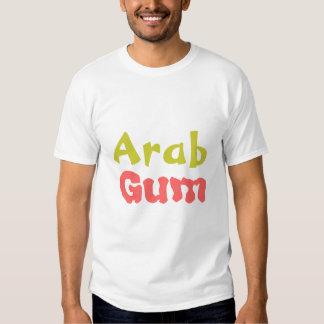 Goma árabe t-shirts
