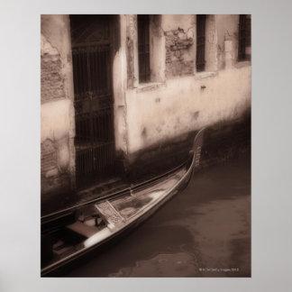 Gôndola em Veneza Italia Poster