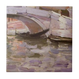 Gôndola por Sargent, belas artes do Victorian do
