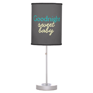 Goodnight bebê doce - a cabeceira do bebê