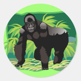 Gorila da selva adesivo