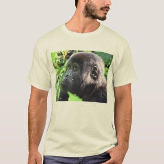 Gorila de montanha camiseta