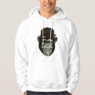 Gorila do hipster moletom