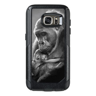 Gorila novo da mãe