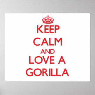 Gorila Posters