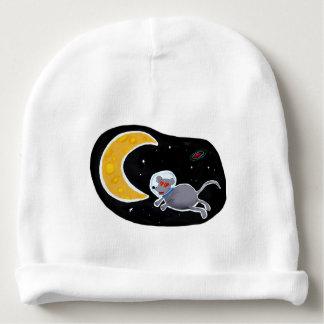 Gorro de Algodão para Bebês - Mouse In Space Gorro Para Bebê