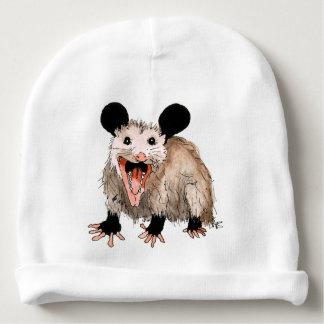 Gorro de bebé com opossum baby gorro para bebê