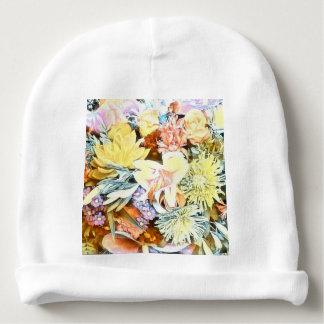 Gorro Para Bebê 1117 floral macio