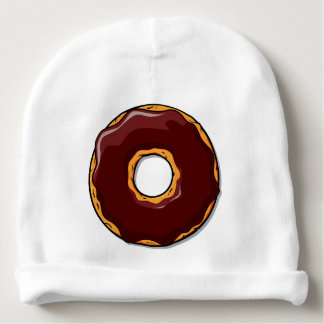 Gorro Para Bebê 1 design da rosquinha do chocolate dos desenhos