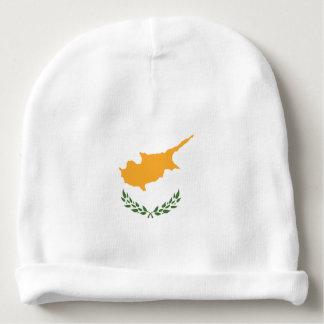 Gorro Para Bebê A bandeira abstrata de Chipre, cipriota colore o
