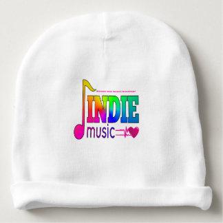 Gorro Para Bebê A música Indie mantem minha batida do coração