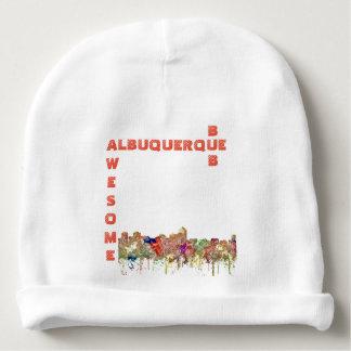 Gorro Para Bebê A skyline de Albuquerque New mexico